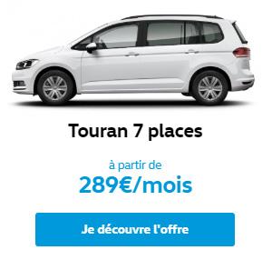 Touran 7 places